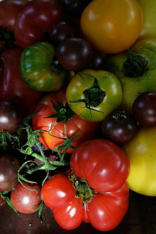 Mix tomatoes