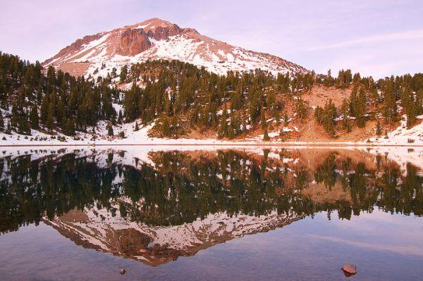 Helen Lake, Mt. Lassen peak