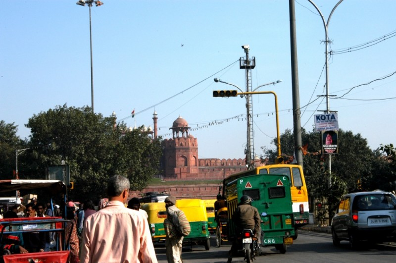 Laal Kila, or the Red Fort.