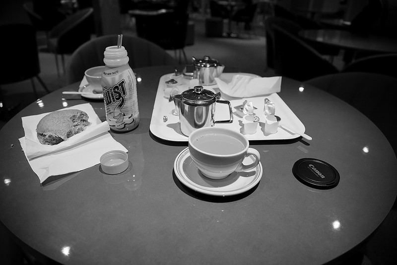 cafe, table, drinks, food