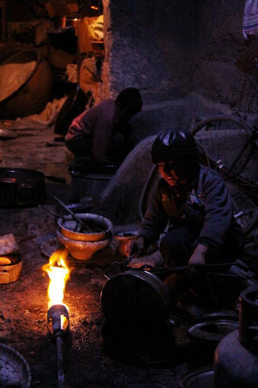 Make cast copper 2