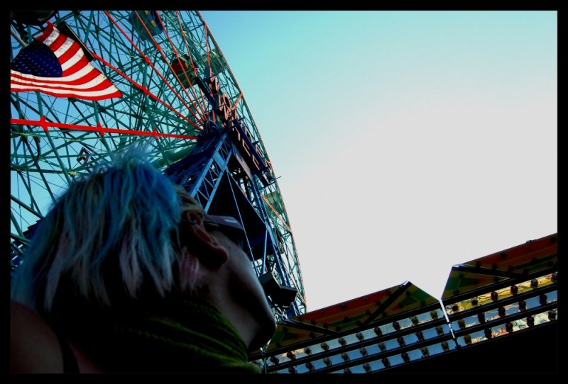 Wonderwheel in Coney Island, New York