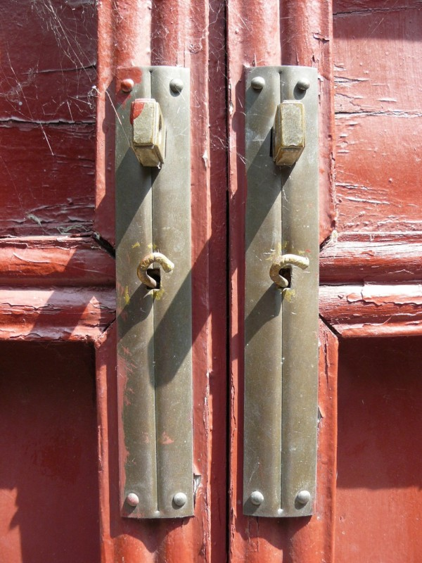 Chinese Temple Latches, Jardin Botanique, Montreal