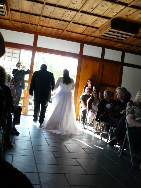 Wedding Recessional, Now Married, Husband and Wife