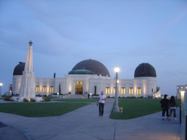 Twilight at Griffith Park Observatory - L.A., CA