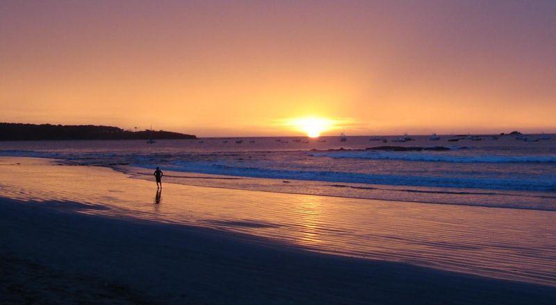Pacific Beach Sunset at Tamarindo Costa Rica