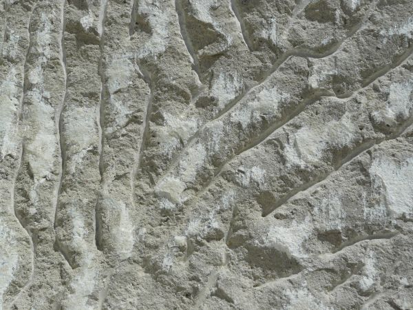 scarified gunnite pool wall, pre-plastering