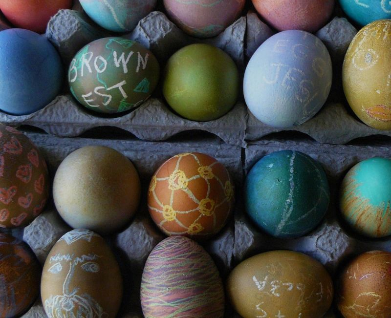 Ginsberg Brownest Easter Egg Contest