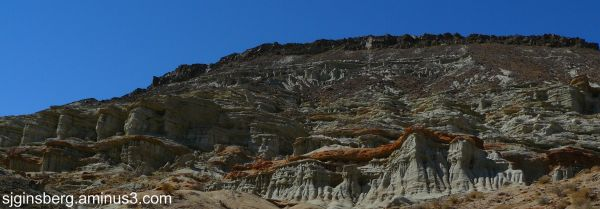 Panorama of Red Rock Canyon California
