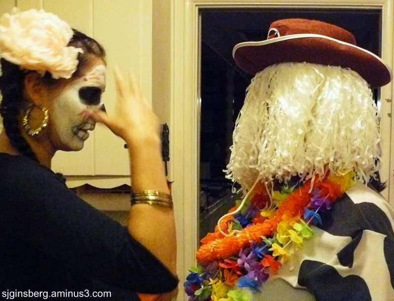 Cow Clown and Death discuss politics