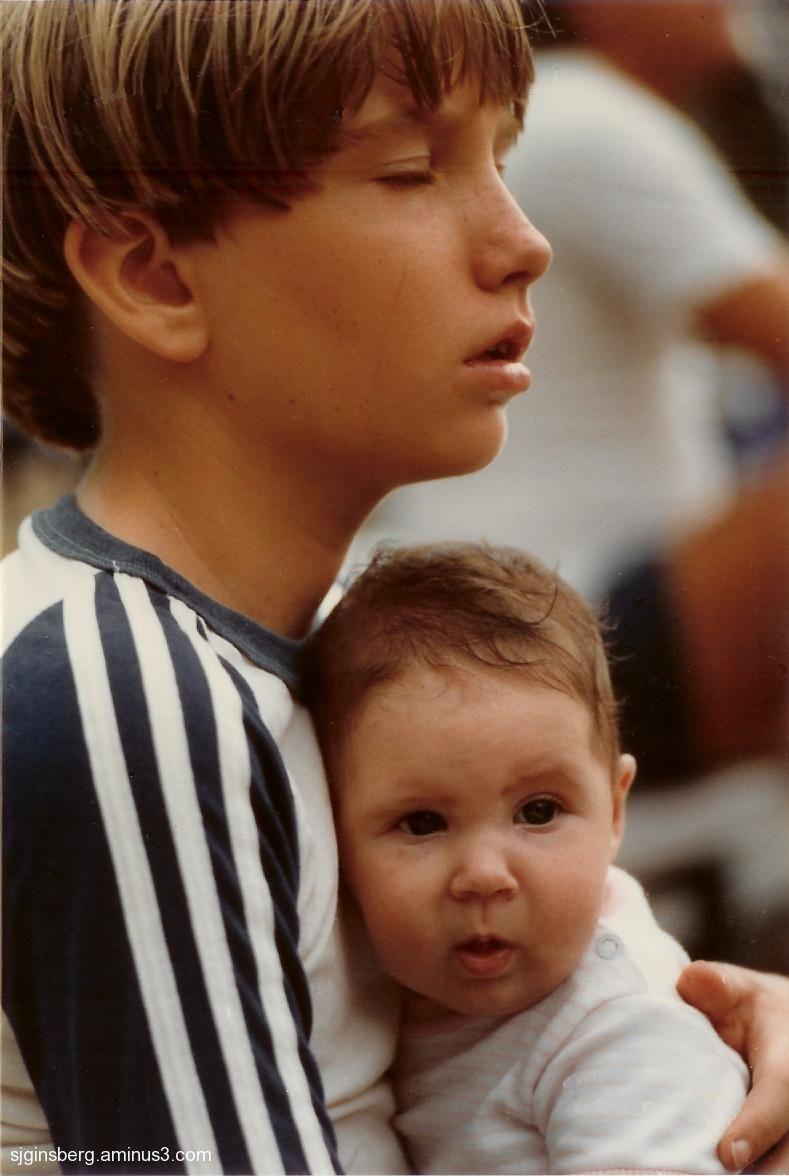 Paul and Kazia 1982