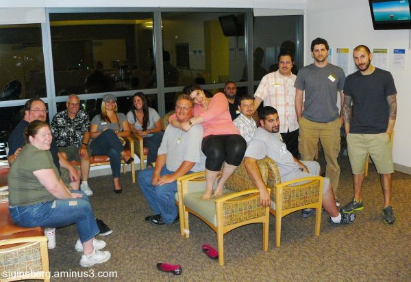 the waiting room at kaiser