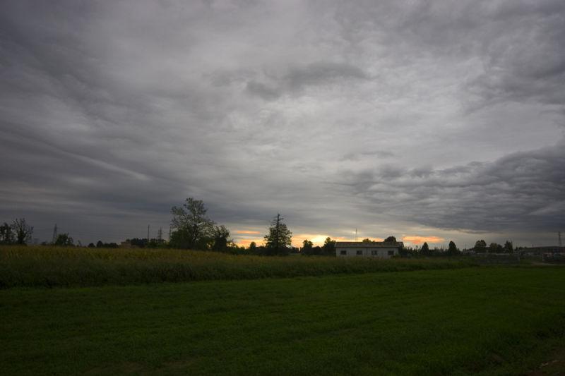 Dawn near Lodi.