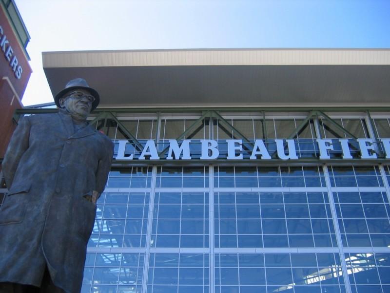 Vince Lombardi Statue at Lambeau Field
