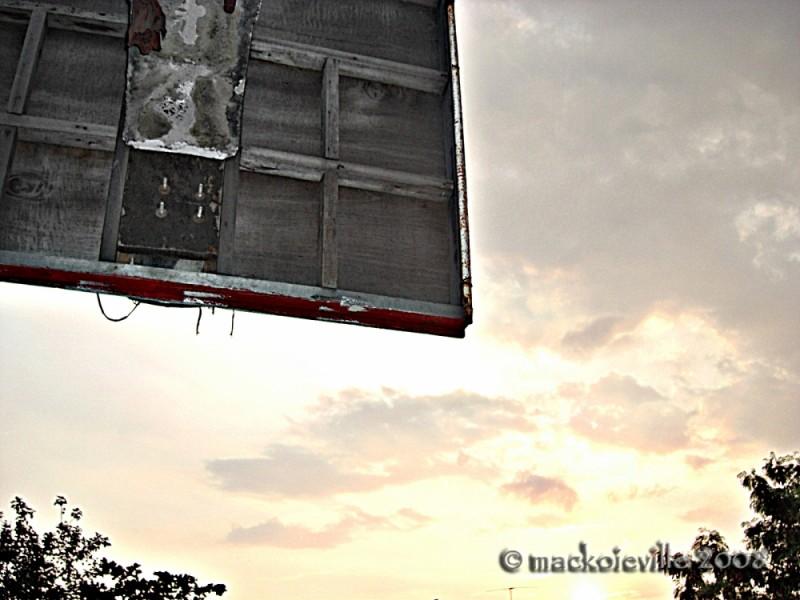 backboard...