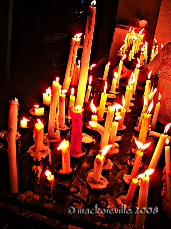 candlelight...