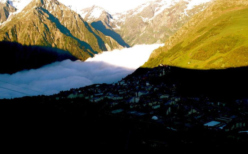Les duex alps fog line