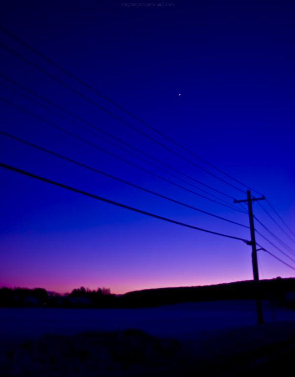 Stowe Power Sunset