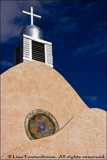 old church in San Ysidro, New Mexico,