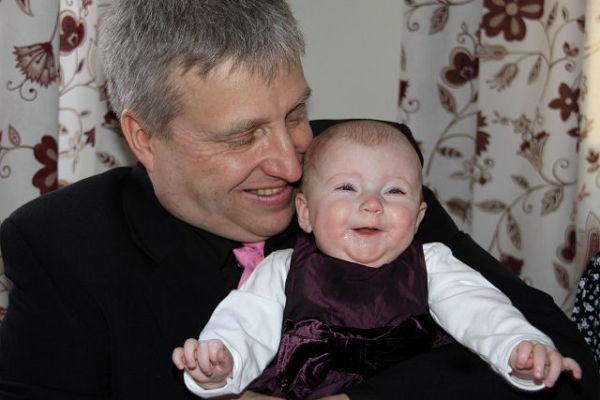 Me and my grandchild Alma