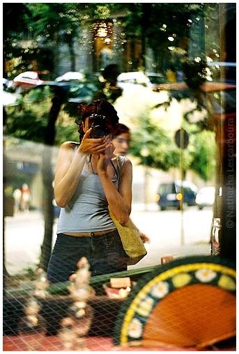 Shopwindow selfportrait
