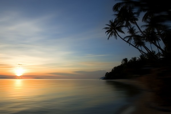 sunset at Koh Samui