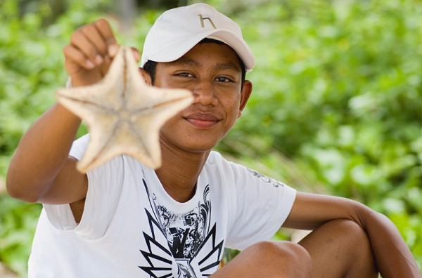 Koh Samui Thailand photos pictures seastar zeester