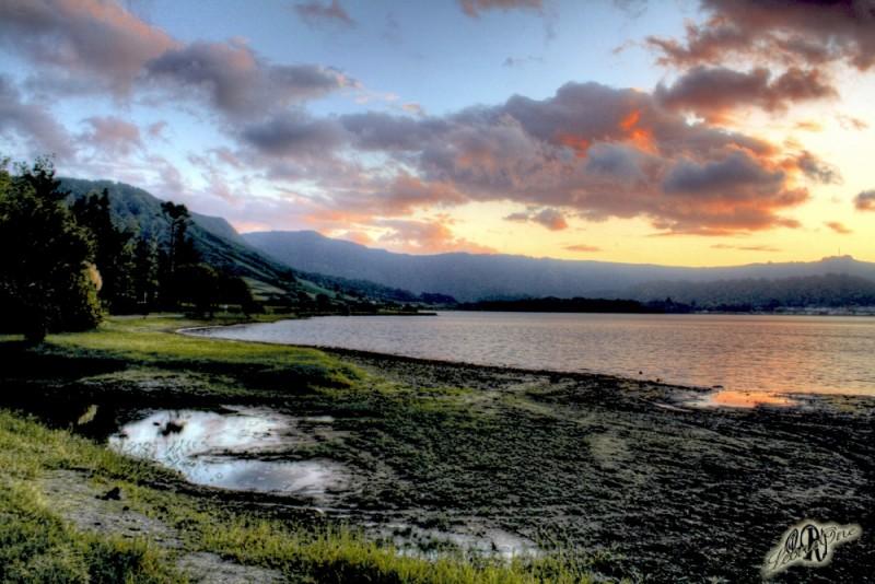 Sete Cidades Açores Lagoa Azul Tramonto