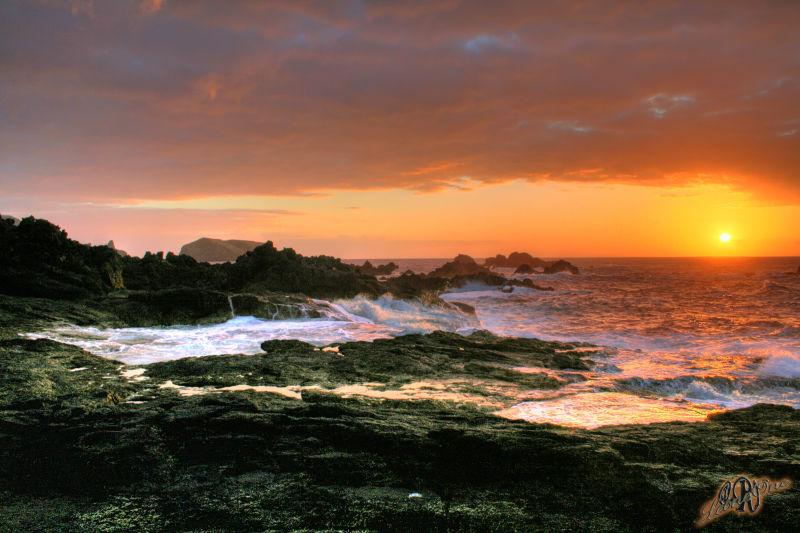 Mosteiros Açores Tramonto