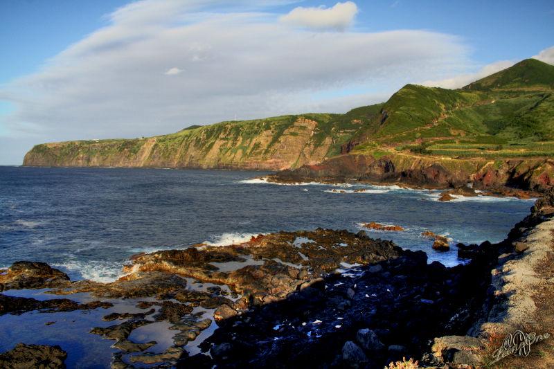 Mosteiros Açores Ponta da Bretanha