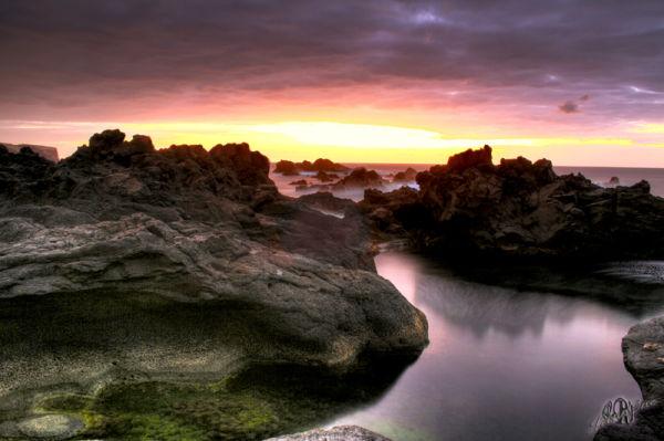 Mosteiros Açores  Azzorre Notte