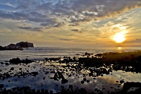 Açores Azzorre Tramonto