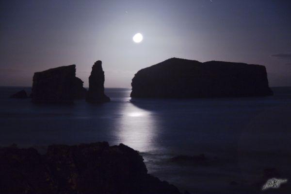 Azzorre Oceano Mosteiros Luna