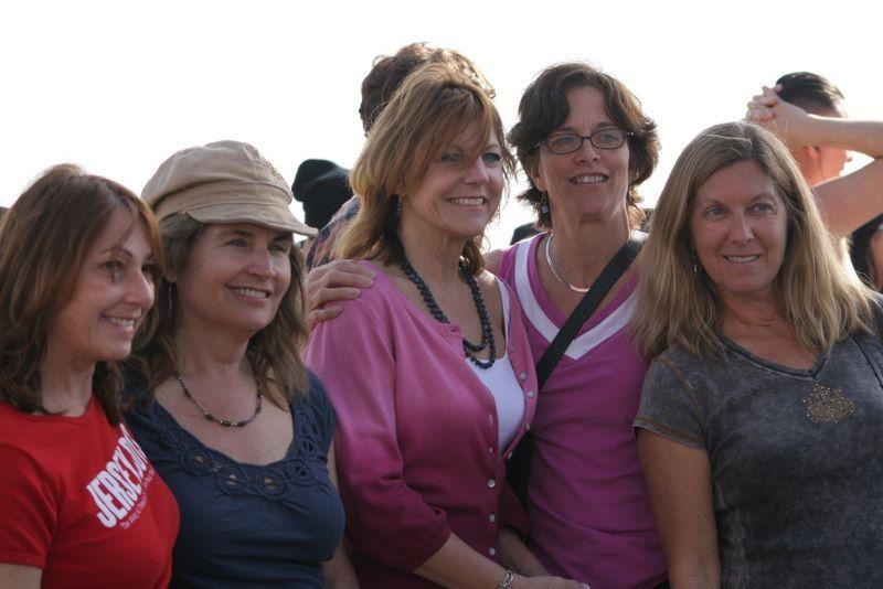 "Girlfriends at Venus Beach at the ""Drum Circle"""