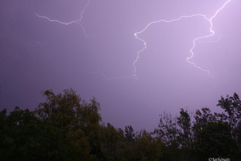 Le retour des orages !
