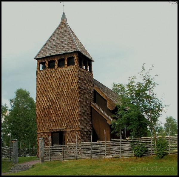 Old church in Särna - Dalarna - Sweden