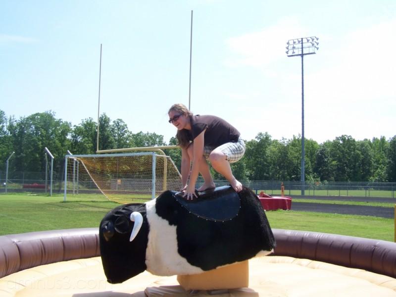Abby Rides the Bull