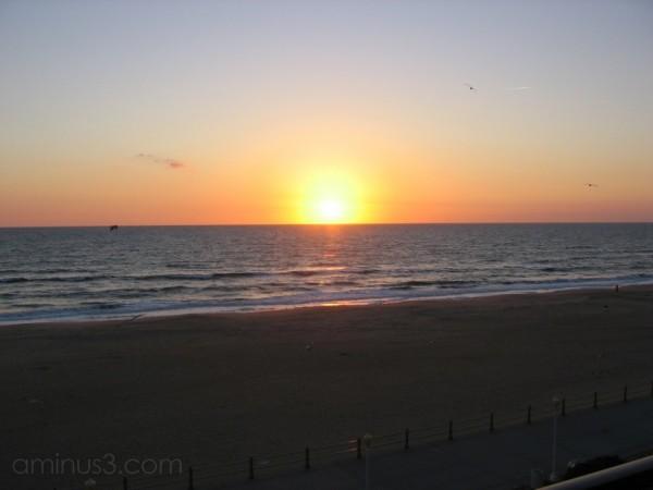 Sunrise over Virginia Beach