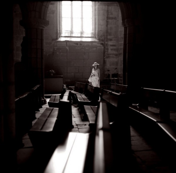 The visit , inside a brittany church
