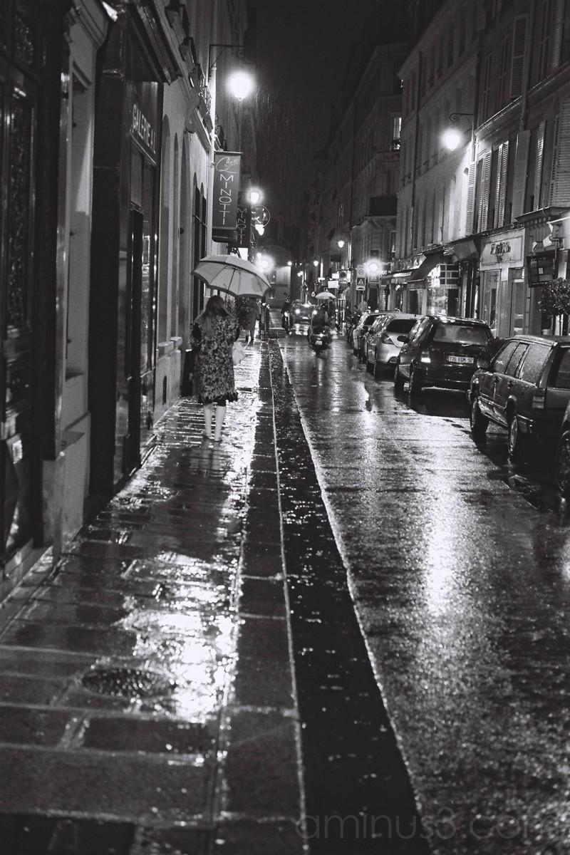 la pluie Paris
