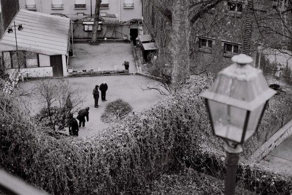 Pétanque à Montmartre