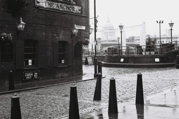 the Anchor & St Paul Cathedral - London