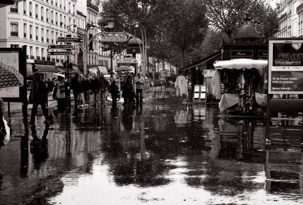 Pluie d'Anvers- Paris