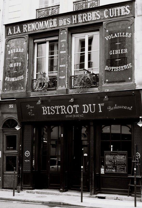 vieux bistrot  rue saint Honoré - Paris