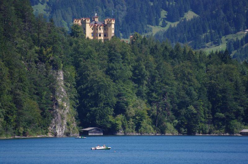 chateau de Hohenschwangau et alpsee
