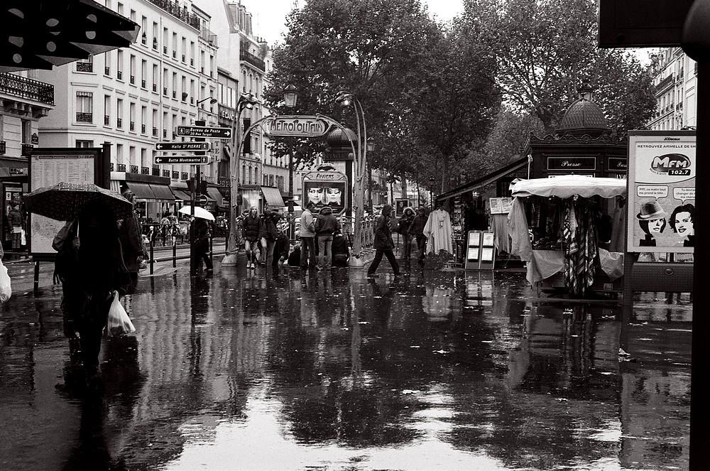 Pluie d'Anvers