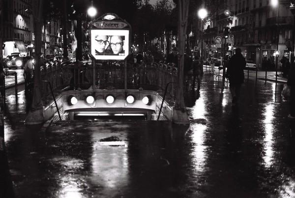 pluie nocturne
