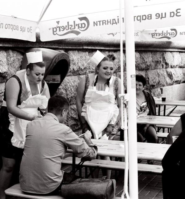 les serveuses, Kiev