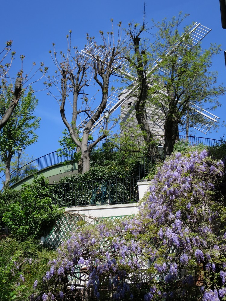 rue Lepic Montmartre
