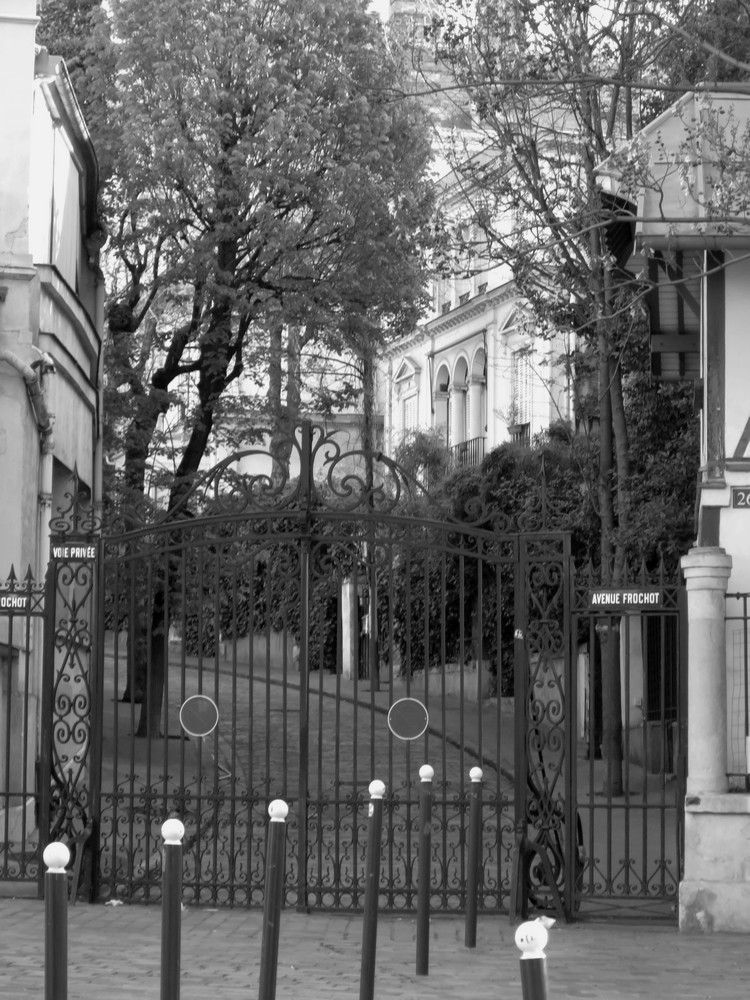 Rue Frochot Paris